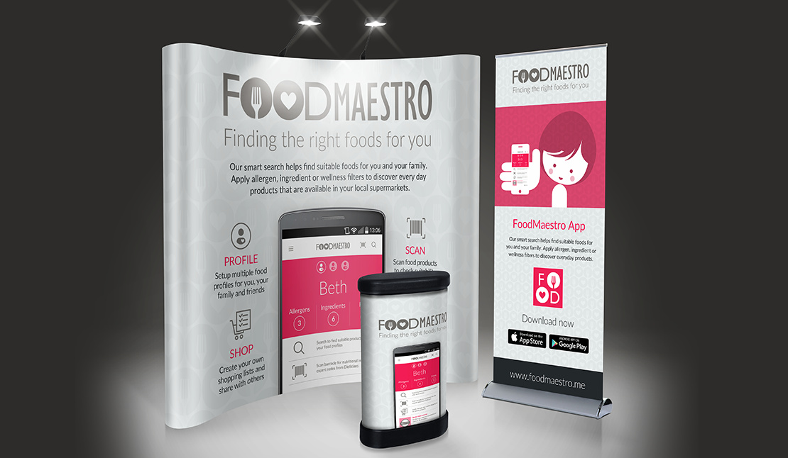 FoodMaestro – Information Design