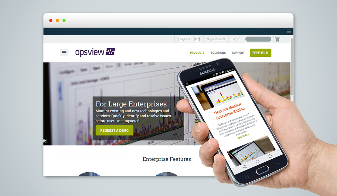 Opsview - Website